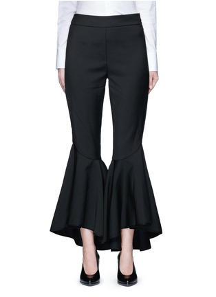 Main View - Click To Enlarge - Ellery - 'Sinous' cropped flared pants
