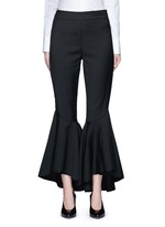 'Sinous' cropped flare pants