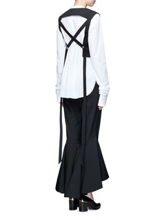 Ellery 'Sinous' cropped flared pants