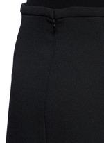 'Beedee' cady flute skirt