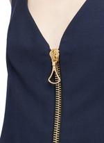 'Barton' zip front camisole dress
