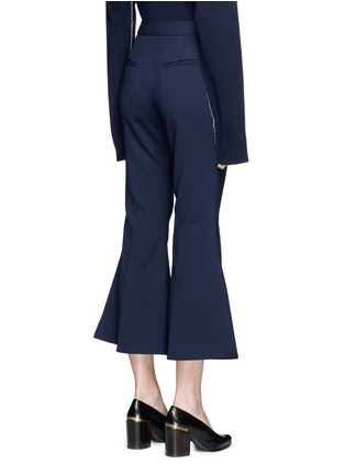 Back View - Click To Enlarge - Ellery - 'Federico' cropped flared pants