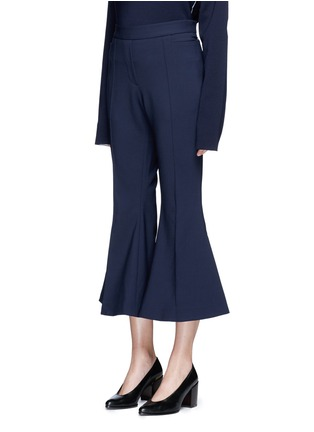 Front View - Click To Enlarge - Ellery - 'Federico' cropped flared pants