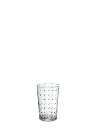 Main View - Click To Enlarge - KHMISSA MOROCCO DESIGN - Plumetis tea glass