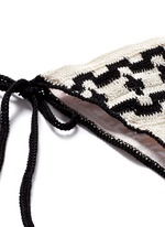 'Mirage' ethnic crochet triangle bikini set