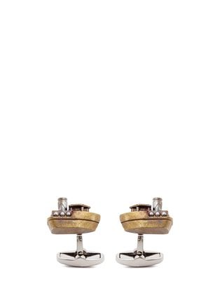 Main View - Click To Enlarge - Paul Smith - Ferry boat cufflinks