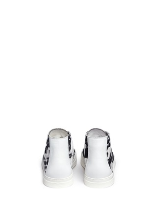 Back View - Click To Enlarge - Pierre Hardy - 'Frisco' camocube print high top sneakers