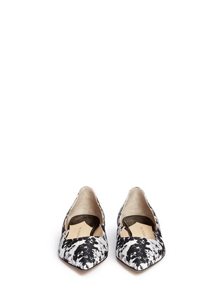 Front View - Click To Enlarge - Paul Andrew - 'Zoya' Mestre St. Daisy wavy flats