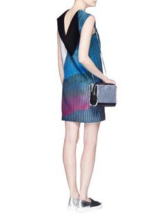 COCURATAPolyphasic print panel dress