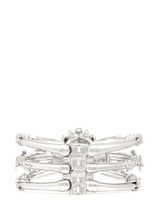 Back View - Click To Enlarge - Alexander McQueen - Owl skull bangle