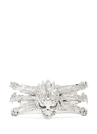 Main View - Click To Enlarge - Alexander McQueen - Owl skull bangle