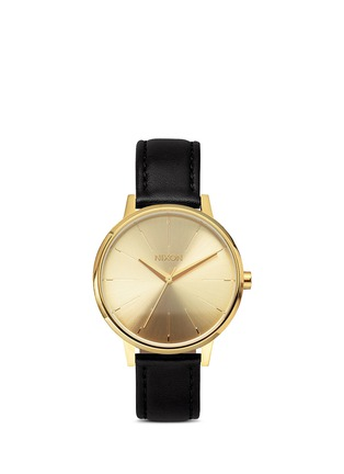Main View - Click To Enlarge - Nixon - 'The Kensington Leather' watch