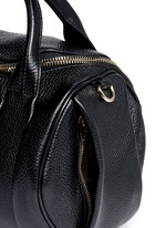 'Rockie' pebbled leather duffle bag