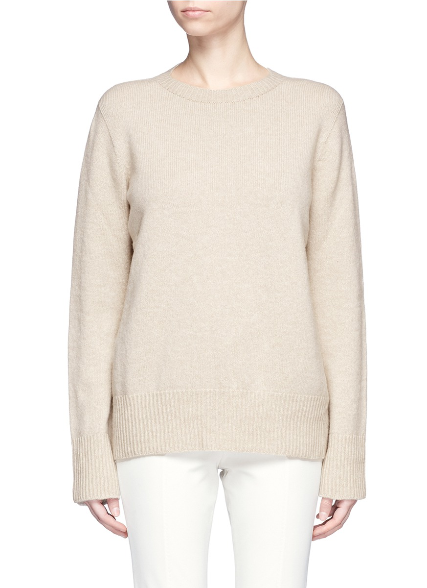 Sibel wool-cashmere sweater by The Row