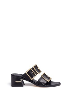 Tibi 'Kari' buckle leather sandals