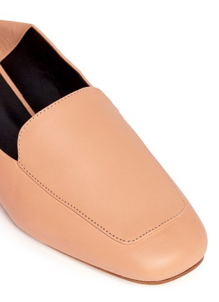 Detail View - Click To Enlarge - Tibi - 'Cecil' leather loafer slides