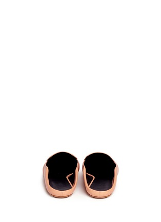 Back View - Click To Enlarge - Tibi - 'Cecil' leather loafer slides