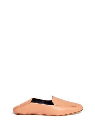 Main View - Click To Enlarge - Tibi - 'Cecil' leather loafer slides