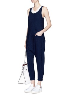 AG 'Abyl' cotton jersey jumpsuit