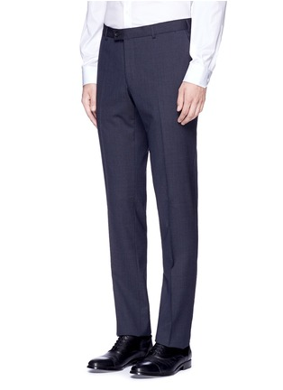 Detail View - Click To Enlarge - Lanvin - 'Attitude' woven stripe wool suit