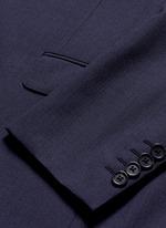 'Attitude' woven stripe wool suit