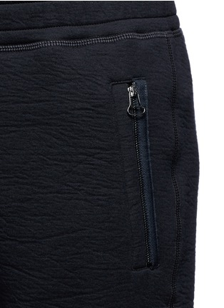 Detail View - Click To Enlarge - Lanvin - Technical jersey jogging pants