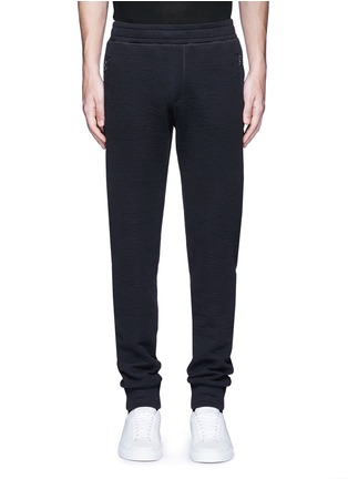 Main View - Click To Enlarge - Lanvin - Technical jersey jogging pants