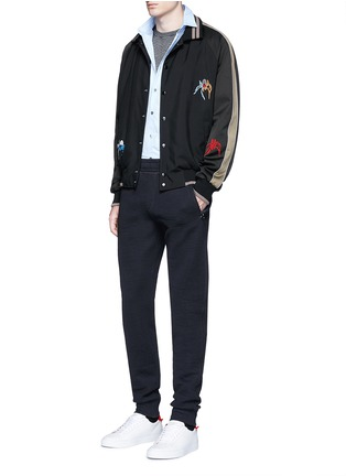 Figure View - Click To Enlarge - Lanvin - Technical jersey jogging pants