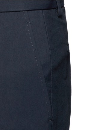 Detail View - Click To Enlarge - Lanvin - Zip rib cuff jogging pants