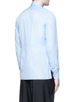 'Evolutive' slim fit cotton shirt