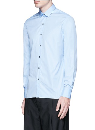Lanvin-'Evolutive' slim fit cotton shirt