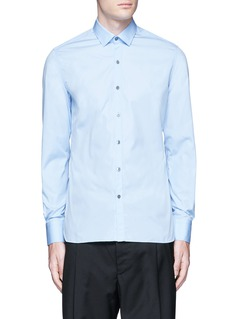 Lanvin 'Evolutive' slim fit cotton shirt