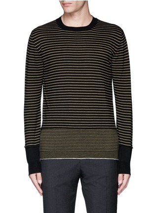 Main View - Click To Enlarge - Lanvin - Stripe Merino wool sweater