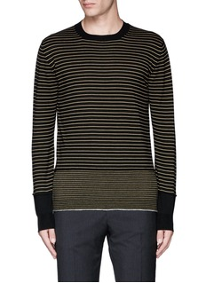 Lanvin Stripe Merino wool sweater