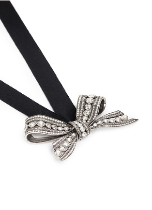 Detail View - Click To Enlarge - Lanvin - 'Diane' bow brooch