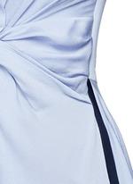 'Thurloe' cutout twist front colourblock jumpsuit