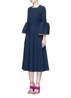 Roksanda'Yasmin' lantern sleeve textured dress
