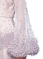 'Erin' bubble appliqué organza dress