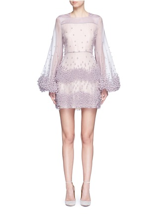 Main View - Click To Enlarge - Roksanda - 'Erin' bubble appliqué organza dress