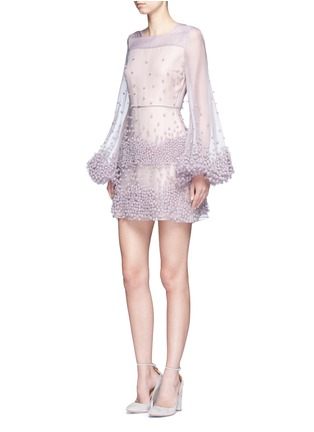 Figure View - Click To Enlarge - Roksanda - 'Erin' bubble appliqué organza dress