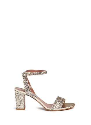 Main View - Click To Enlarge - TABITHA SIMMONS - 'Leticia' coarse glitter sandals