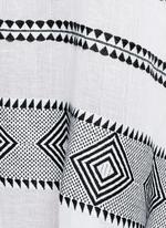 'Freya' tibeb embroidery long caftan