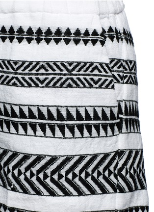 Detail View - Click To Enlarge - Lemlem - 'Freya' tibeb embroidery shorts