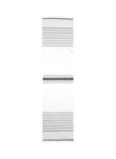Lemlem'Nadia' dotted stripe cotton scarf