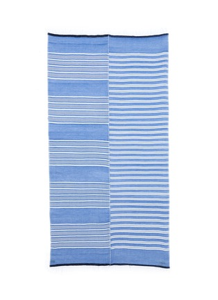 Lemlem - 'Selina' contrast stripe cotton-blend wrap