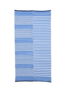 Lemlem 'Selina' contrast stripe cotton-blend wrap