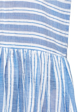 Detail View - Click To Enlarge - Lemlem - 'Selina' stripe V-neck cotton dress