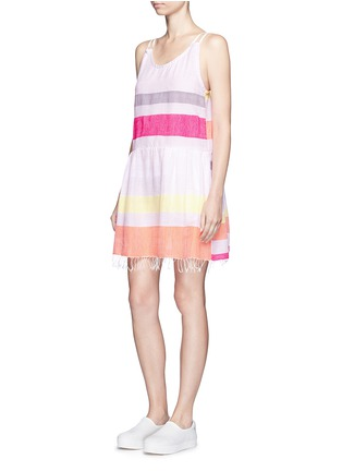 Lemlem - 'Hali' stripe cotton beach dress