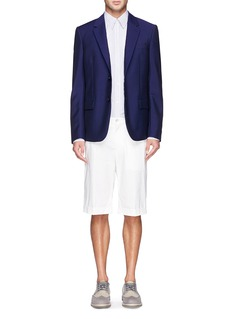 Alexander McQueenVirgin wool-mohair blazer