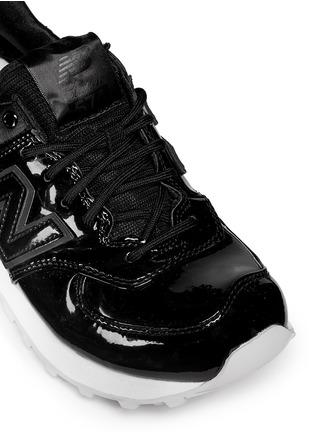patent leather new balance 574